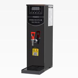 Calentador de agua paso a paso leche comercial tienda de té máquina de agua caliente automática de agua calentador de agua machiner dispensador 10L desde fabricantes