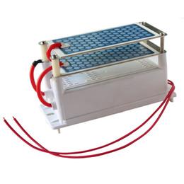 110//220V 7g//h OFFERTA piatto in ceramica generatore di ozono purificatore aria più pulita Kit Nuovo