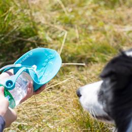 Pet Dışında Yaprak Su Bardağı Silika Jel Plastik Pet Köpek Aksesuarları Sular Şişe Çok Renkler Şişeleri Çevre Dostu 25 5yk L1 supplier eco plastic water bottle nereden eko plastik su şişesi tedarikçiler