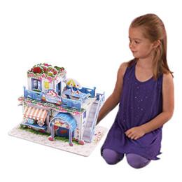 Bébé Early Education Jouet À La Main En Trois Dimensions Puzzle Mini Maison Modèle De Mode Nouveau Bébé Puzzle ? partir de fabricateur