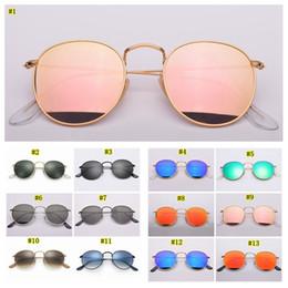 Дизайнерские солнцезащитные очки круглой металлической модели UV400 Стеклянные линзы добавляют коричневую или черную кожаную ткань и все аксессуары MMA2128 cheap sunglasses leather от Поставщики солнцезащитные очки кожа