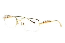 Deutschland Mode Büffelhorn Brille Rechteck Sonnenbrille 2019 Sommer Stile Designer Vintage Leopard Brille für Männer Frauen klare Linse mit Box supplier clear rectangle boxes Versorgung