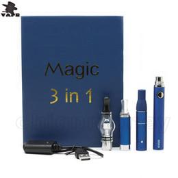 evod globe kit Rabatt Magic 3 In 1 Vape Dry Herb Oil Wachs Herbal Klassische Glaskugel Verdampfer Mt3 Zerstäuberbehälter Verdampfer EVOD Luxus Starter Kit