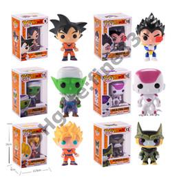 drachenball helden Rabatt FUNKO POP DRAGON BALL Z (Zetto) Sohn Goku Frieza Vegeta Zelle Super Heroes Puppe Spielzeug Kinder Geschenk Spielzeug