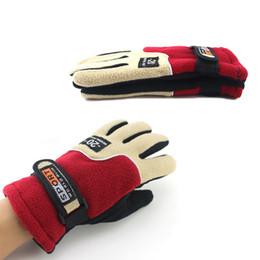 Gants de chasse hiver en Ligne-Gants polaires d'hiver plein doigts gants anti-dérapants chasse respirant