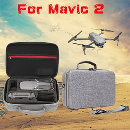 DJI Mavic 2 Nueva Drone gris Conjunto de almacenamiento cuadro de zoom Shell duro Maleta completa bolsa impermeable maleta portátil para Quadcopter desde fabricantes