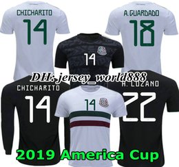 Argentina Versión de jugador American Cup 2019 camiseta de fútbol local de México México camiseta de fútbol de visitante de México cheap american football shirts Suministro