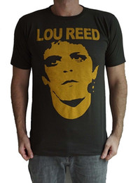 Canada Lou Reed Rock Roll Animal Tee shirt Unisexe Retro Rock Blanc Noir Gris Rouge Pantalon RETRO VINTAGE T-sh cheap reed red Offre