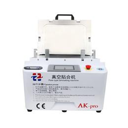 Máquina de laminação oca on-line-AK-Pro LCD Recondicionar Máquina de Laminação A Vácuo Laminador OCA Para Samsung Edge Glass Substituir Reparação Máquina de Laminação