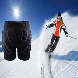2019 almohadillas de snowboard Impact Hip Pad Unisex Light Skateboard Snowboard Ski Hip Shorts acolchados Pantalones acolchados Ski Protection Gear rebajas almohadillas de snowboard