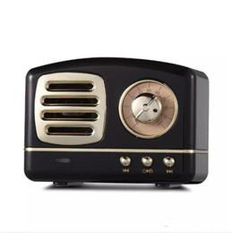 Подарок u диск онлайн-Подарок ретро старинные беспроводные колонки Bluetooth инновационный Радио Портативный мини-динамик стерео глубокий бас FM U диск TF громкой связи сабвуфер