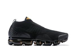 Argentina 2019 cojín vapores maxes FK MOC para hombre zapatillas de deporte de diseño negro zapatillas de deporte zapatos hombres mujeres atletas Jogging soprts zapatos de entrenamiento cheap athlete running shoes Suministro