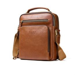 New Men s 100% genuine leather shoulder bag women crossbody bags for men  high quality fashion messenger bag for 9.7