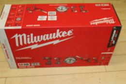 2019 agujero negro de manzana NUEVO Juego combinado de 5 herramientas Milwaukee M18 Kit combinado inalámbrico de 18 voltios 2695-25CX