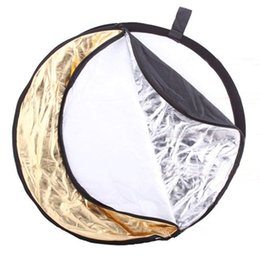2019 профессиональная светлая коробка фотографии Hot Selling 60cm 5 in 1 Portable Collapsible Light Round Photography Reflector for Studio Multi Photo Disc with storage bag