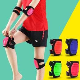 2019 rodilleras de baile Almohadillas ajustables para el deporte o rodilleras para niños / niños para patinaje sobre ruedas que protegen el baile rebajas rodilleras de baile