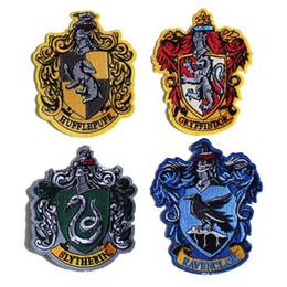 Académie Magique Harry Potter Ravenclaw Brodé Lron Sur Badge Crest Badge Haute Qualité, Appliques, Fait De Tissu, DHL Gratuit ? partir de fabricateur