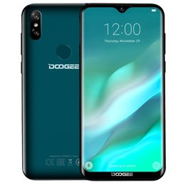 DOOGEE Y8 Smartphones 4G LTE 6.1 pulgadas Waterdrop pantalla Android 9.0 Quad Core 3GB RAM 16GB ROM Teléfonos celulares desde fabricantes