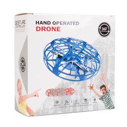 2019 helicóptero escovado do rc do motor 2019 UFO Gesto Indução Suspensão Aircraft inteligente Flying Saucer com luzes LED criativa Toy Entretenimento