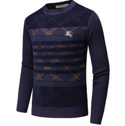 New Latest supre Designer Outono Inverno Mens Sweater clássico Moda Pullover Men Marca Tripulação Pescoço Roupas de