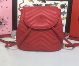 2019 mochila cruz roja Mochilas de diseñador 2019 moda mujer dama negro rojo mochila bolso encantos envío gratis mochila cruz roja baratos