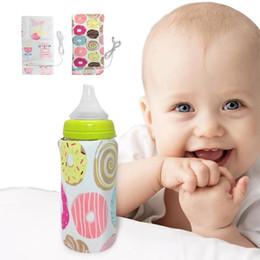 USB Baby Flaschenwärmer Tragbare Milch Reise Tassenwärmer Heizung Säuglingsnahrungsflasche Tasche Lagerung Abdeckung Isolierung Thermostat Taschen B von Fabrikanten