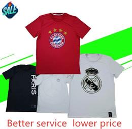 Culture t shirts en Ligne-PSG Real Madrid Bayern 19 20 nouveaux fans T-shirt shirt commémoratif Team Culture S-XXXL