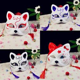 2019 gesichtsmaskenentwürfe für partei 201909 Hot neueste Entwurfs Zephyr Cos PVC Partei Full Face Masken Cat Anime Fox Cosplay Maske Masquerade Supplies halbe Gesichts-Halloween-Maske M574A rabatt gesichtsmaskenentwürfe für partei