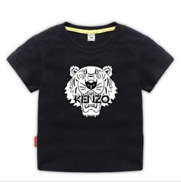 2019 t-shirt dressing stil junge Kurzärmliges T-Shirt für Kinder im Sommerkleid Neues Kinder-T-Shirt für Kinder Kinderunterhemd Babies'Half-T-Shirt Top 2- günstig t-shirt dressing stil junge