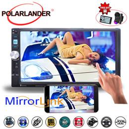 2019 mp4 player de vídeo para carro melhor 2 din vídeo Radio Car MP4 MP5 entrada vendendo 7 polegadas FM USB Stereo selecção câmera traseira da tela de toque TF Bluetooth DVR mp4 player de vídeo para carro barato