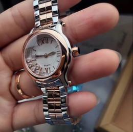 2019 cinghia di tono Diamante BELT diamante BEZEL QUARZO LADY 30 MM CASE moda donna orologio all'ingrosso lusso nuovo acciaio inossidabile Womens orologi cinghia di tono economici