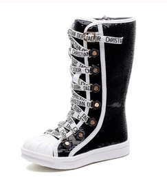 chaussures filles en Martin chaudes de les Nouveau d en haute cuir pour bottes qualité Bottes filles peluche pour véritable hiver neige longues 26 37 wPkOn0