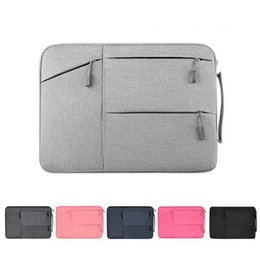 2020 estuches para laptop 13 Diseñador-Laptop Bag Notebook Bag Case para Macbook Pro 13.3 15.6 Funda para portátil 11 12 13 14 15 pulgadas Mujeres Hombres Bolso rebajas estuches para laptop 13