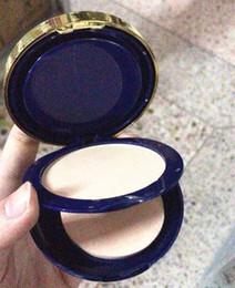 HOT Marca Maquillaje Doble Capa Base Ajuste de Cara Polvo Compacto SPF20 PA +++ Concealer fond de teint Kit DHL Envío Gratis desde fabricantes