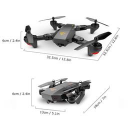 камеры с длинным зумом Скидка RC Drone зрительно XS809W XS809HW камеры Высота Удерживать Quadcopter Мини Складная селфи Drone с Wi-Fi FPV 0.3MP или 2MP