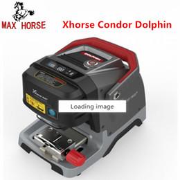 2019 máquina de la llave del cóndor Pre-venta Xhorse Condor Dolphin Key Cutting Machine V1.0.7 Funciona en la aplicación del teléfono a través de Bluetooth máquina de la llave del cóndor baratos