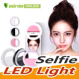 2019 treppiede 2019 LED Light USB illuminazione selfie Luce Light Ring Telefono ricaricabile Flash Lampada selfie Anello Fotografia della macchina fotografica per tutti i cellulari