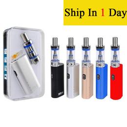 Canada JomoTech Lite 40 Kit Kits de démarrage Kit Jomo 40w mod mini 2200mAh pour vaporisateur de batterie 3 ml réservoir Lite e cigs cigarettes vapor EC010 Offre