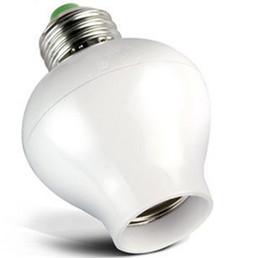 Smart Sensor Светодиодное световое основание E27 Гнездо для управления звуком и светом 100-240В Основания патрона от Поставщики комплект подкладки