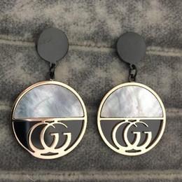 aretes de acero inoxidable cz Rebajas A estrenar de alta calidad CZ Stone Ear Studs Estilos de diseño Pendientes de amor de acero inoxidable para mujeres Regalos