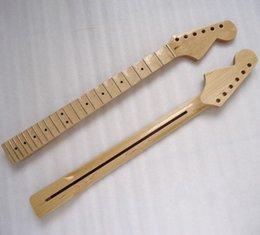 2019 guitarra baixa da porca Colar de guitarra elétrica ST Fenda fender 22 produtos Maple fingerboard light handle with grooves reinforcement strip