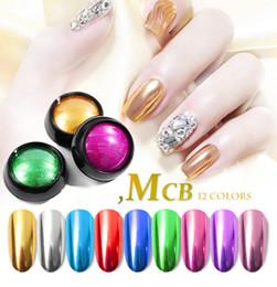 Gennaio3 Manicure per nail art polvere di titanio polvere per specchi argento Farina per specchi argento polvere super galvanica in metallo tinta unita M0025 da eye makeup brush sets fornitori