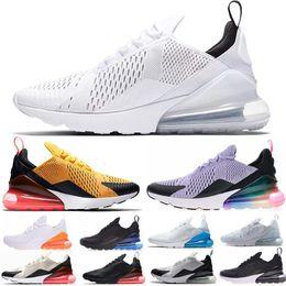 newest 279b0 e5b17 marque de chaussures de tennis blanches Promotion Chaussures de course 270  hommes pas cher marque Cushion