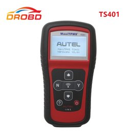 Herramienta AUTEL MaxiTPMS TS401 de Servicio de Diagnóstico de AUTMS original Cobertura de Sensor Inigualable V2.56 Actualización en línea desde fabricantes