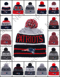 cc0e98347 New Wholesale England Sport Winter Hats Patriots Stitched Team Logo Brand  Warm Men Women Hot Sale Knitted Caps Cheap Mixed Beanies