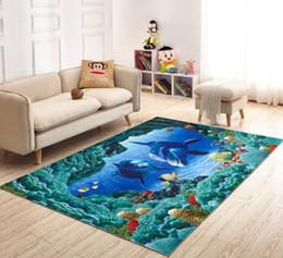 2019 tapis absorbant l'eau Tapis de porte d'entrée de tapis d'impression 3D tapis de salle de bains antidérapant absorbent l'eau tapis de cuisine tapis 3D tapis absorbant l'eau pas cher