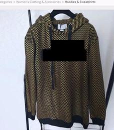Deutschland Hochwertige Hoodies Sweatshirts Frauen Frühling Vergoldung Wave Point Schwarz Gold Druck Kurzarm Sweatshirt supplier waves hoodie black Versorgung