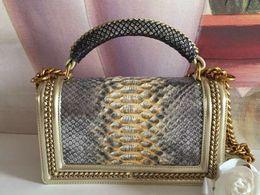 2019 мешки с змеиной кожей Известные бренды же с оригинальным лучшим качеством messenger tote bag real snake skin bag для женщин дешево мешки с змеиной кожей