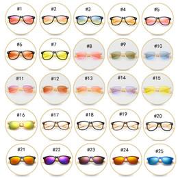 chica de gafas de madera Rebajas 47 color de madera gafas de sol polarizadas de bambú piernas gafas de sol de moda gafas de montar al aire libre niños grandes y niñas gafas de sol nave libre M041
