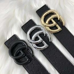 2020 caldo wome Cinture stilista calda degli uomini di alta qualità pelle di vacchetta Cintura metallo liscio H fibbia in jeans di cinghie solide per uomini e donne sconti caldo wome